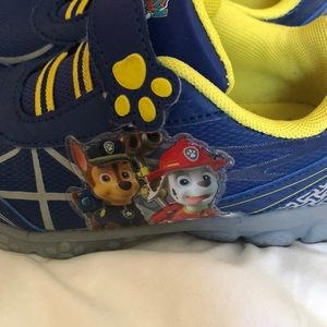 Shoes - Paw patrol boys sneakers toddler size 11
